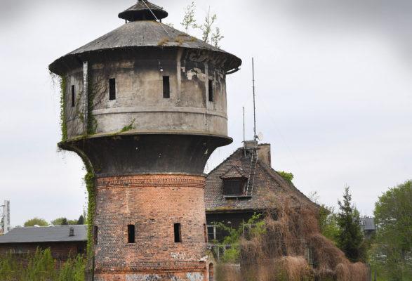 zabytkowa wieża kolejowa w Choszcznie