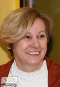"""przewodnicząca osiedla nr 3 """"700-lecia"""" Anna Bzowa"""