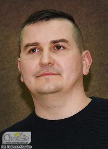 sołtys Korytowa Piotr Sobierajski