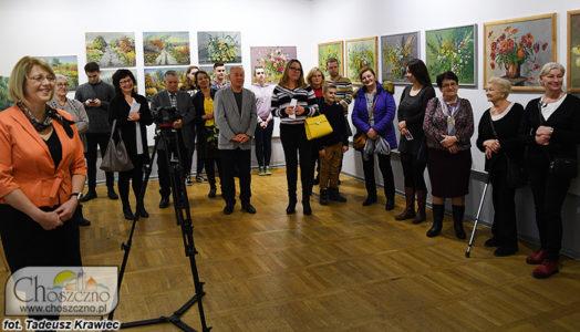 uczestnicy wystawy Haliny Sobczyk