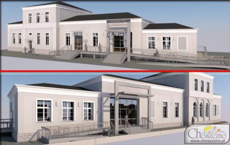 projekt nowego dworca kolejowego