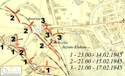 mapa działań wojennych